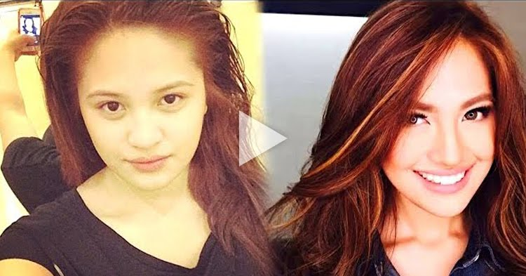 Pinoy Celebrities Who Look Totally Different Without Makeup