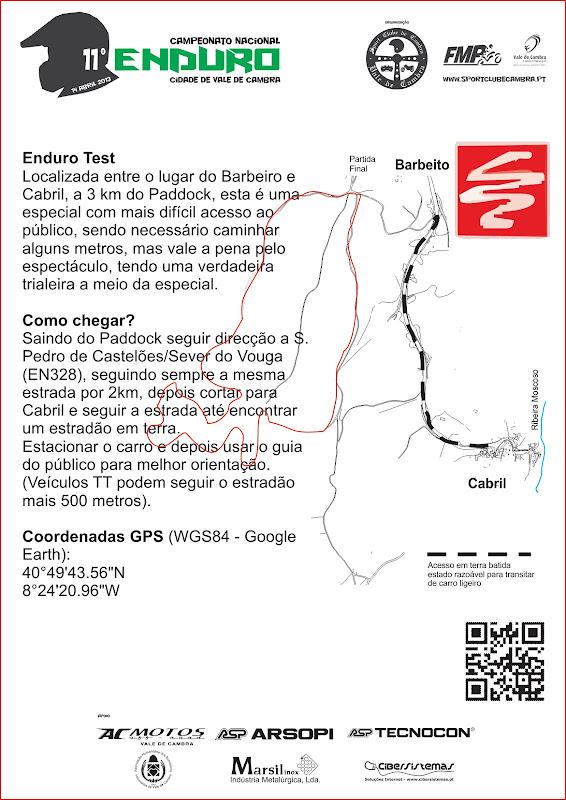 CNE 2013: Enduro Vale de Cambra GuiaPublico_Enduro2013_EnduroTest