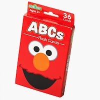 Elmo ABC Flash Cards
