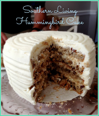 dessertation hummingbird cake with cream cheese custard
