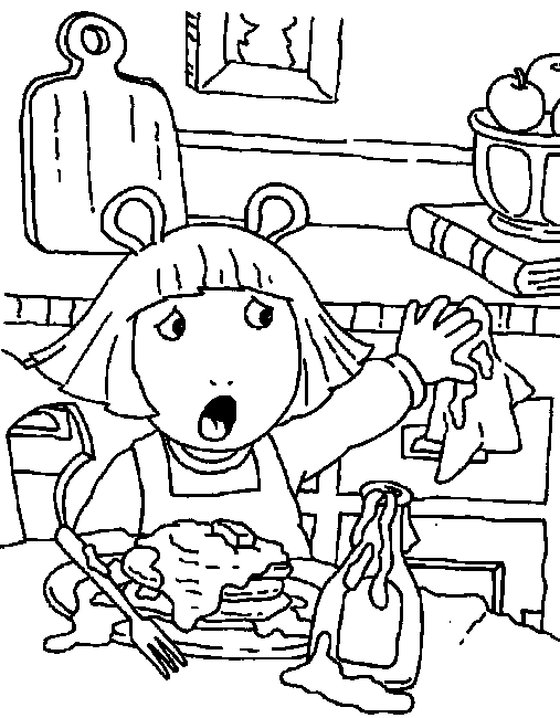 Clifford Coloring Page