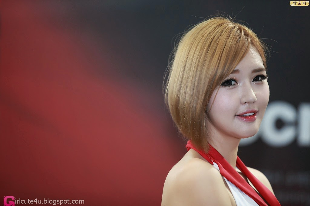 1 Choi Byeol Ha - Seoul Auto Salon 2014 - very cute asian girl-girlcute4u.blogspot.com