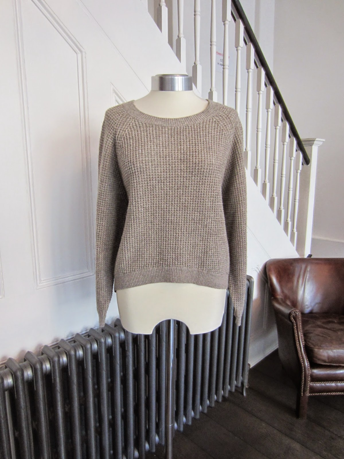Vince Taupe Knit
