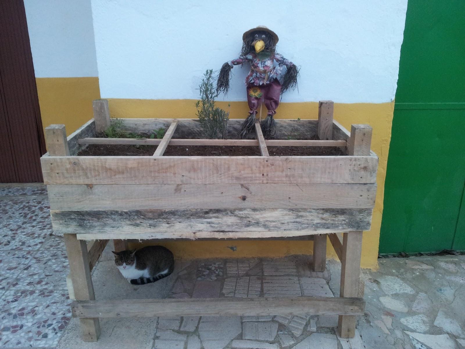 Ecowerto tu blog sobre la huerta ecol gica bricolaje - Mesa de cultivo ...