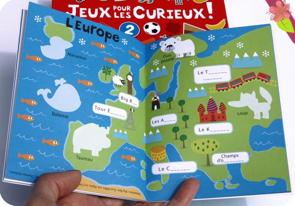 Valisette 6 livres - Jeux pour les curieux ! - éditions Gründ