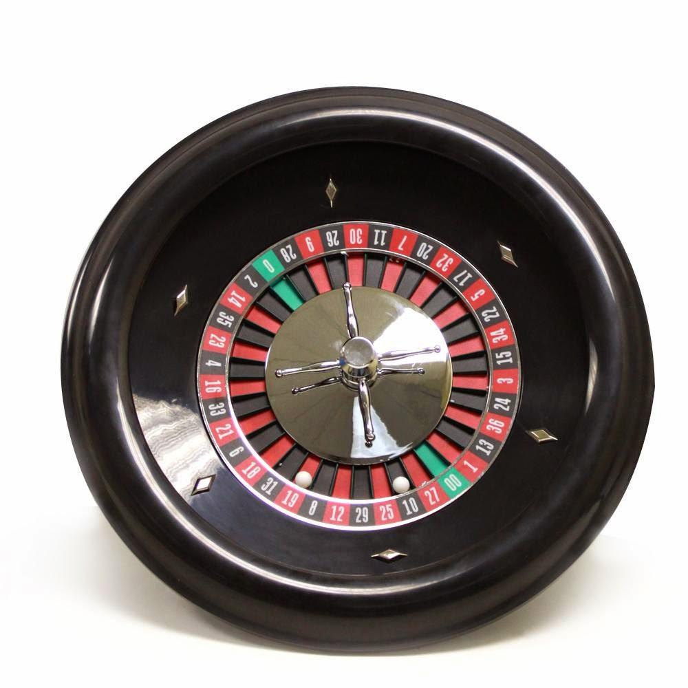 Roulette wheel + wire