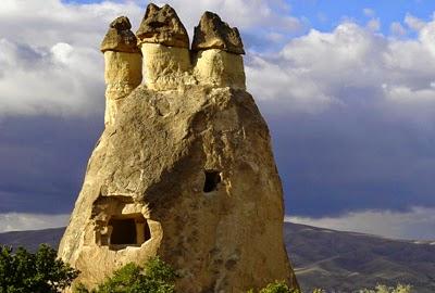 formacion geografica de Capadocia