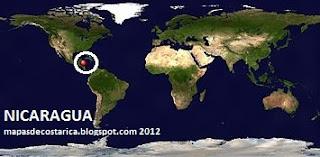 NICARAGUA  planisferio  2012