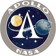 Insignia del programa Apolo. NASA.