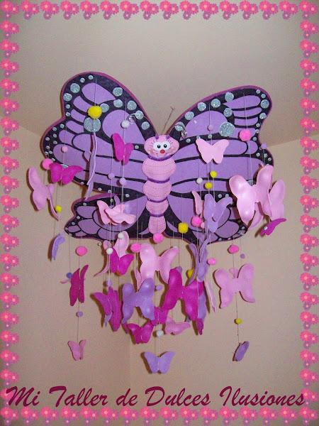 mariposas en goma eva | Aprender manualidades es facilisimo.com