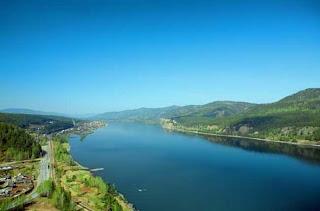 نهر ينيسي في روسيا