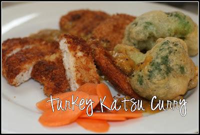 turkey katsu curry