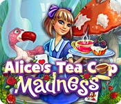 เกมส์ Alice's Tea Cup Madness