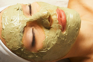 summer facial mask