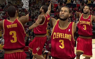 NBA 2K13 Cleveland Cavaliers Away Jersey Patch