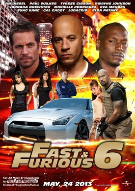 Fast & Furious 6 (2013) DVDRip XviD Watch Full Movie Online