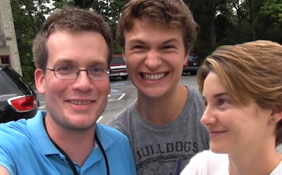 john green ansel elgort shailene woodley the fault in our stars movie soundtrack