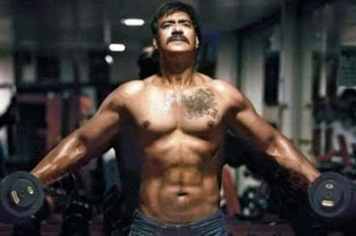 Ajay Devgan Singham Look Photos
