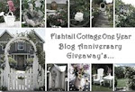 Fishtail Cottage One Year Giveaway's Celebration!