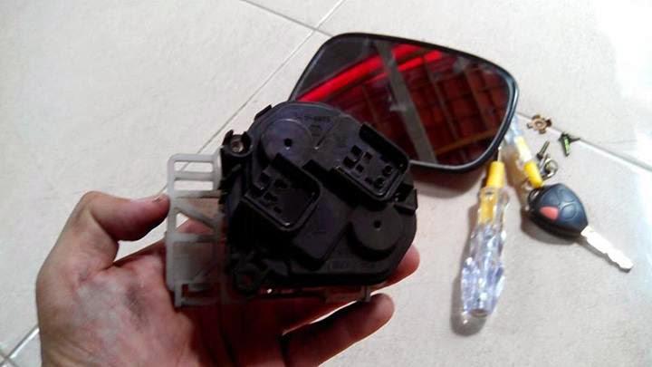 Diy Service Pembetulan Mekanisme Electric Mirror Next G