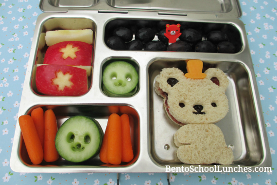 Bear school lunch, CuteZCute