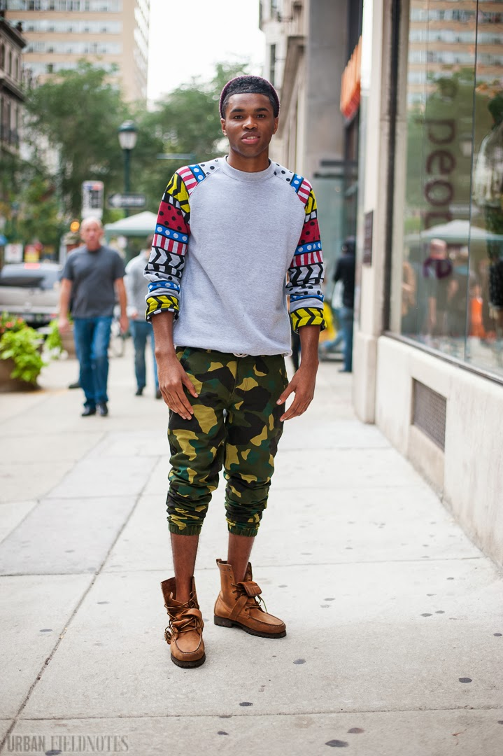 Urban street fashion men