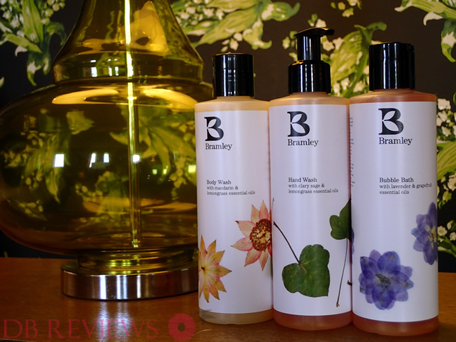 Bramley Range of Natural Bath and Body Products
