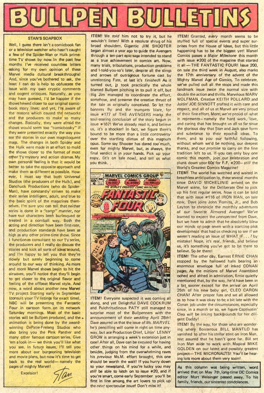 Conan the Barbarian (1970) Issue #92 #104 - English 19
