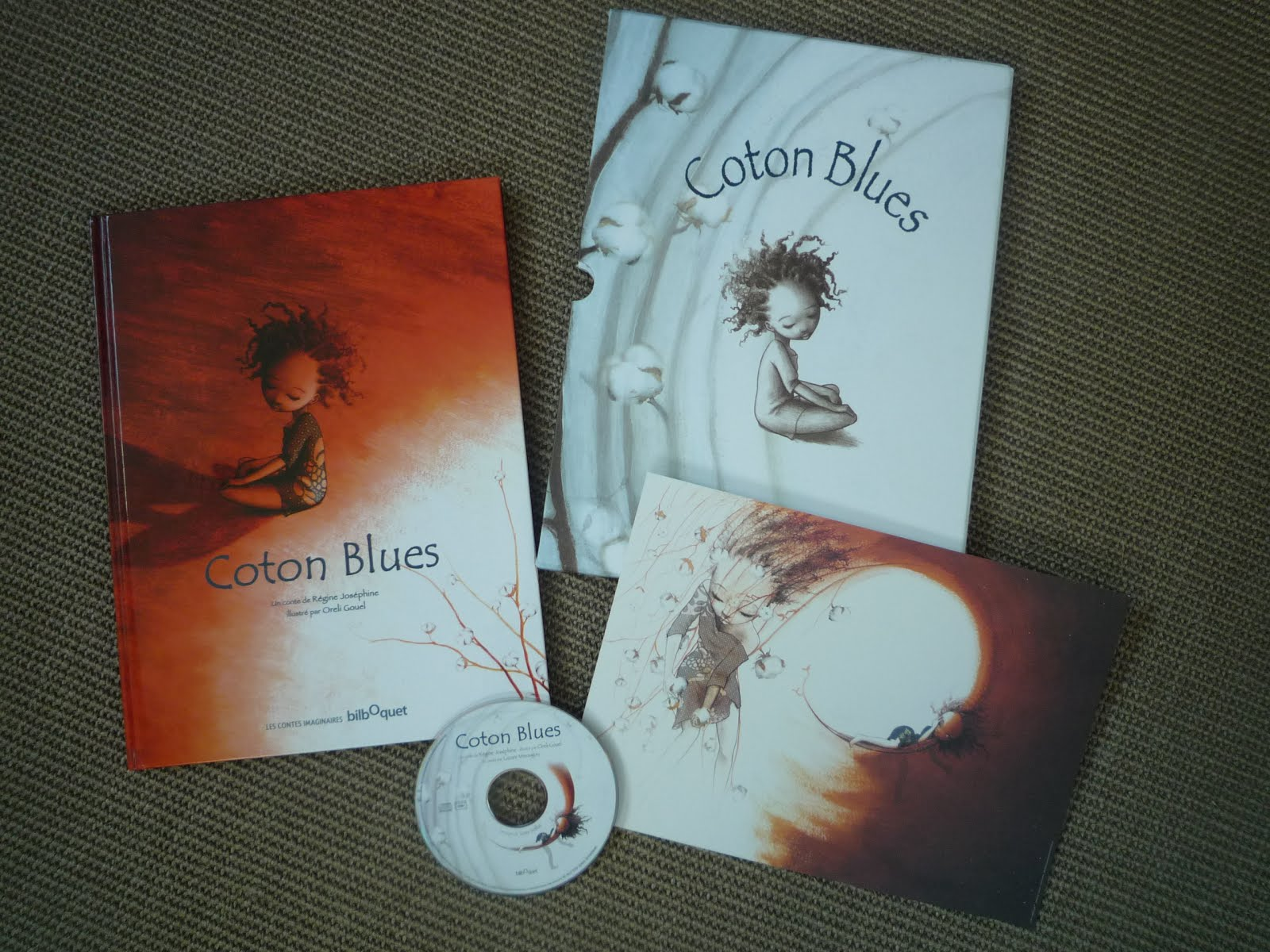 Coton Blues (Album + CD)