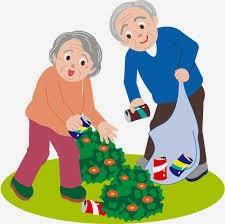 Koleksi Gambar Kartun Unyu Kakek Dan Nenek Yang Selalu Bersama