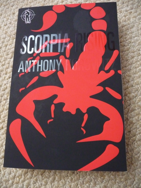 book report of alex rider scorpia Chapter summaries main characters zeljan kurst, leader of scorpia razim suggests they blackmail the british government by killing alex rider then exposing.