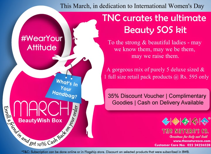 "The Nature's Co ""Women's Day"" Special BeautyWish Box - Wear Your Attitude image"