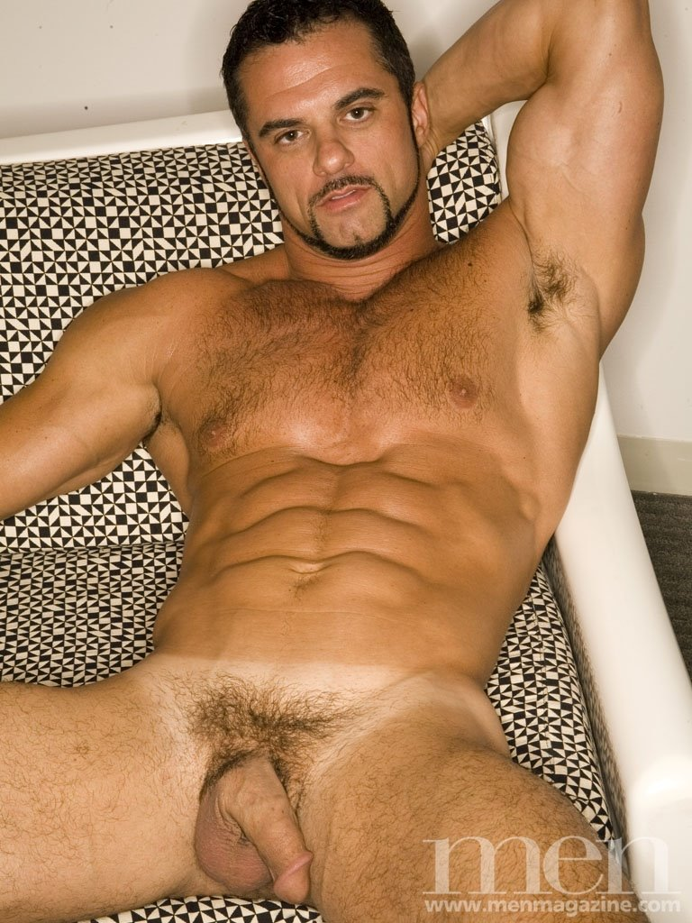 The Latest To Pose For Them And Show Of His Stunning Daddy Physique