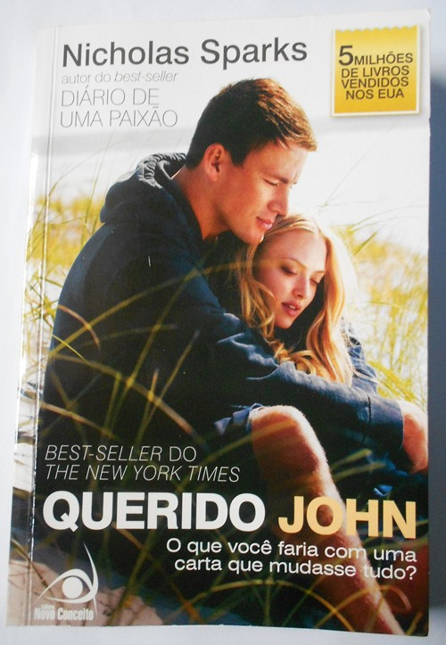 Capa livro Querido John Nicholas Sparks