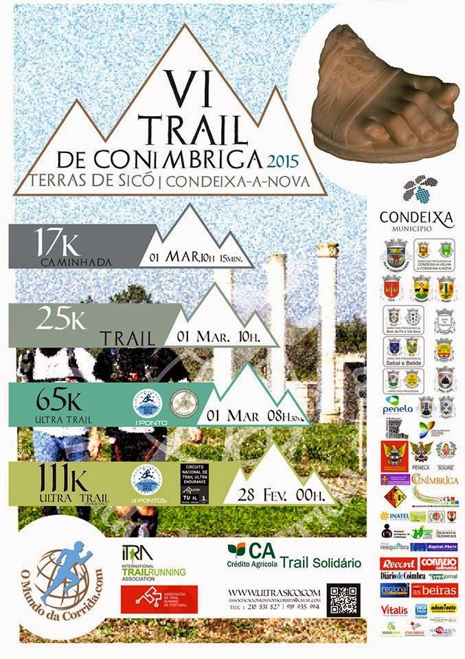 Ultra Trail Terras de Sicó, 28 de fevereiro de 2015