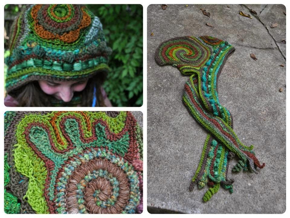 kolory jesieni czapka