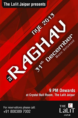 New Year Eve party with DJ Raghav in Jaipur