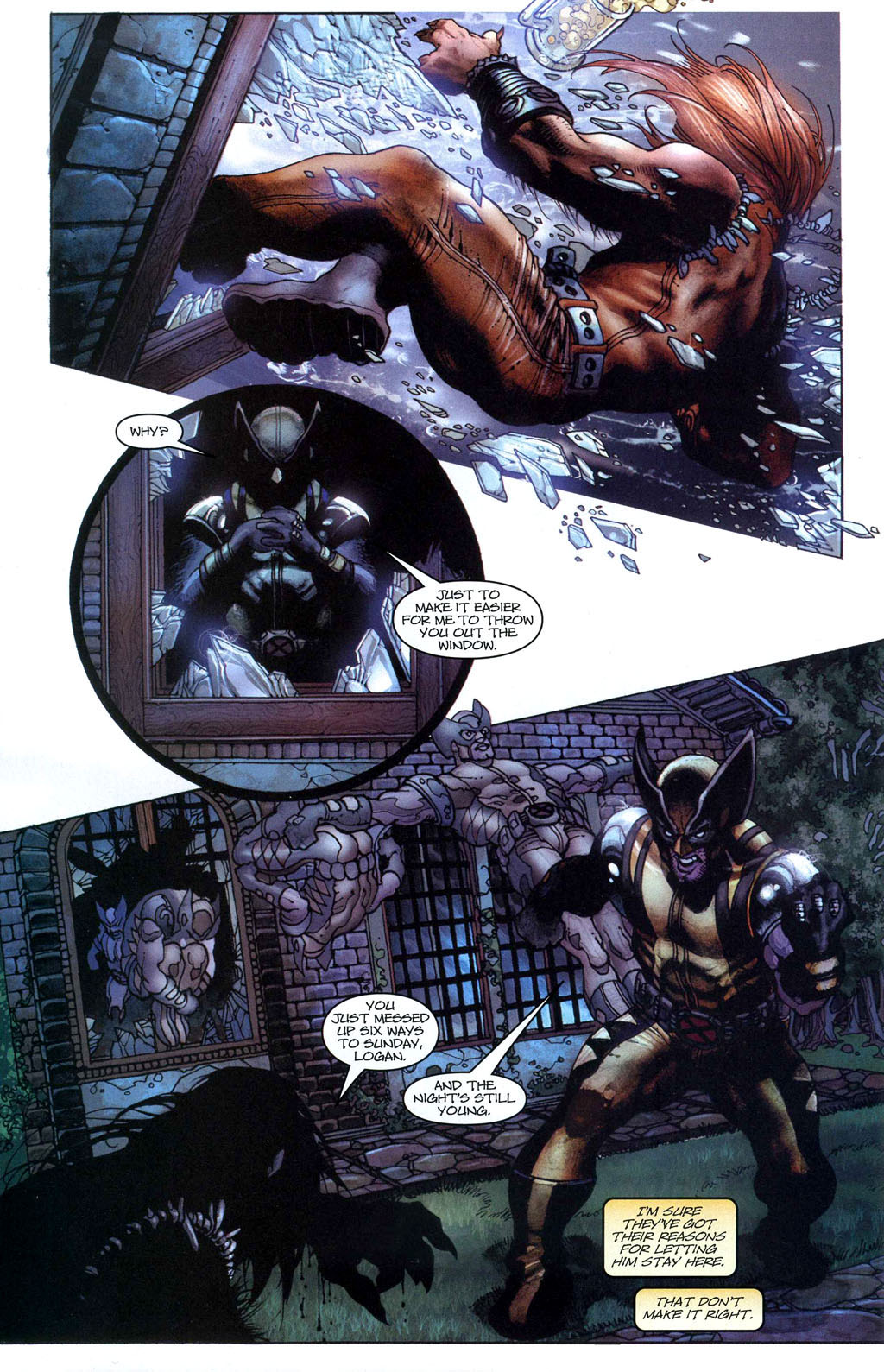 Read online Wolverine (2003) comic -  Issue #50 - 8