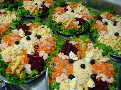 Traiteur traditionnelle et oriental linselles juin 2014 for Salade entree originale