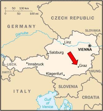 Graz Austria Map - Graz austria map