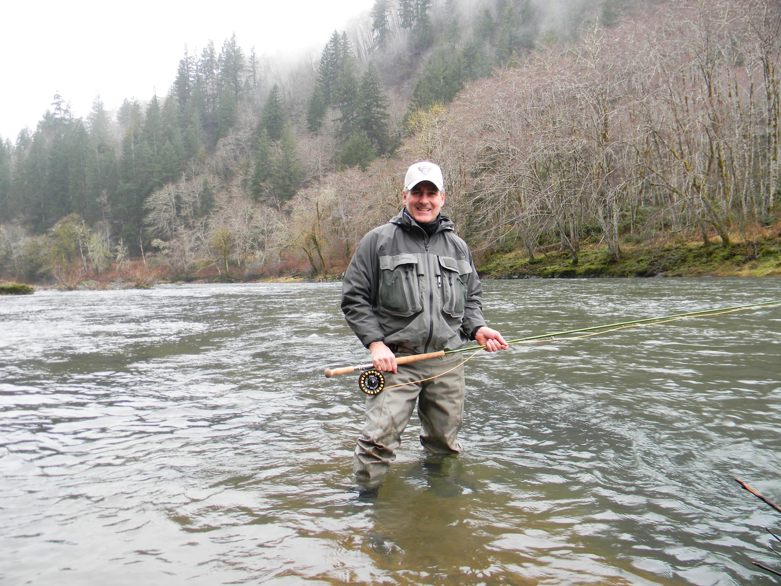 Bob humphrey fly fishing llc oregon steelhead trip for Oregon steelhead fishing