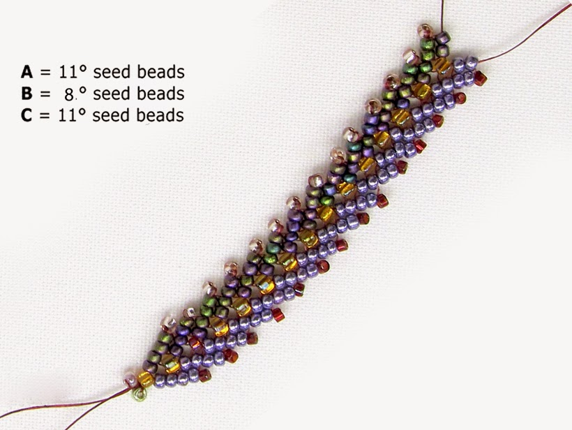 free bead patterns and ideas st petersburg chain