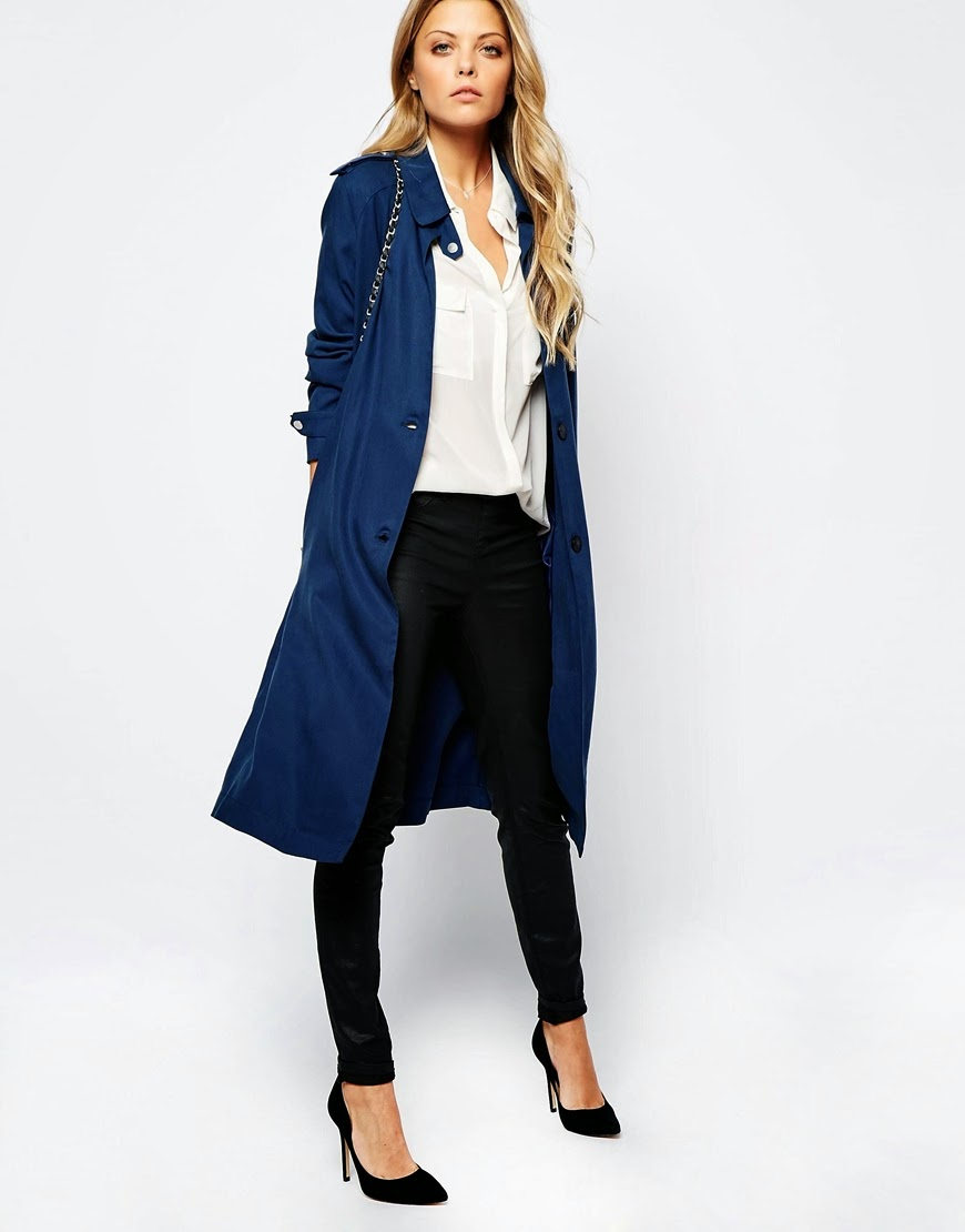vila navy coat,