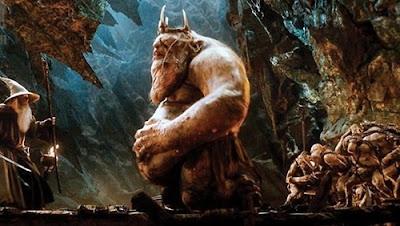 Gandalf e o Grão-Orc - filme O Hobbit