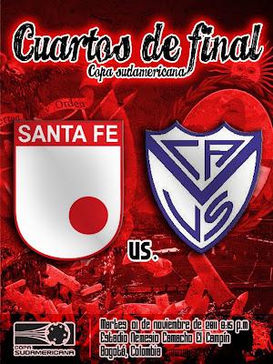 Santa Fe vs Velez en vivo