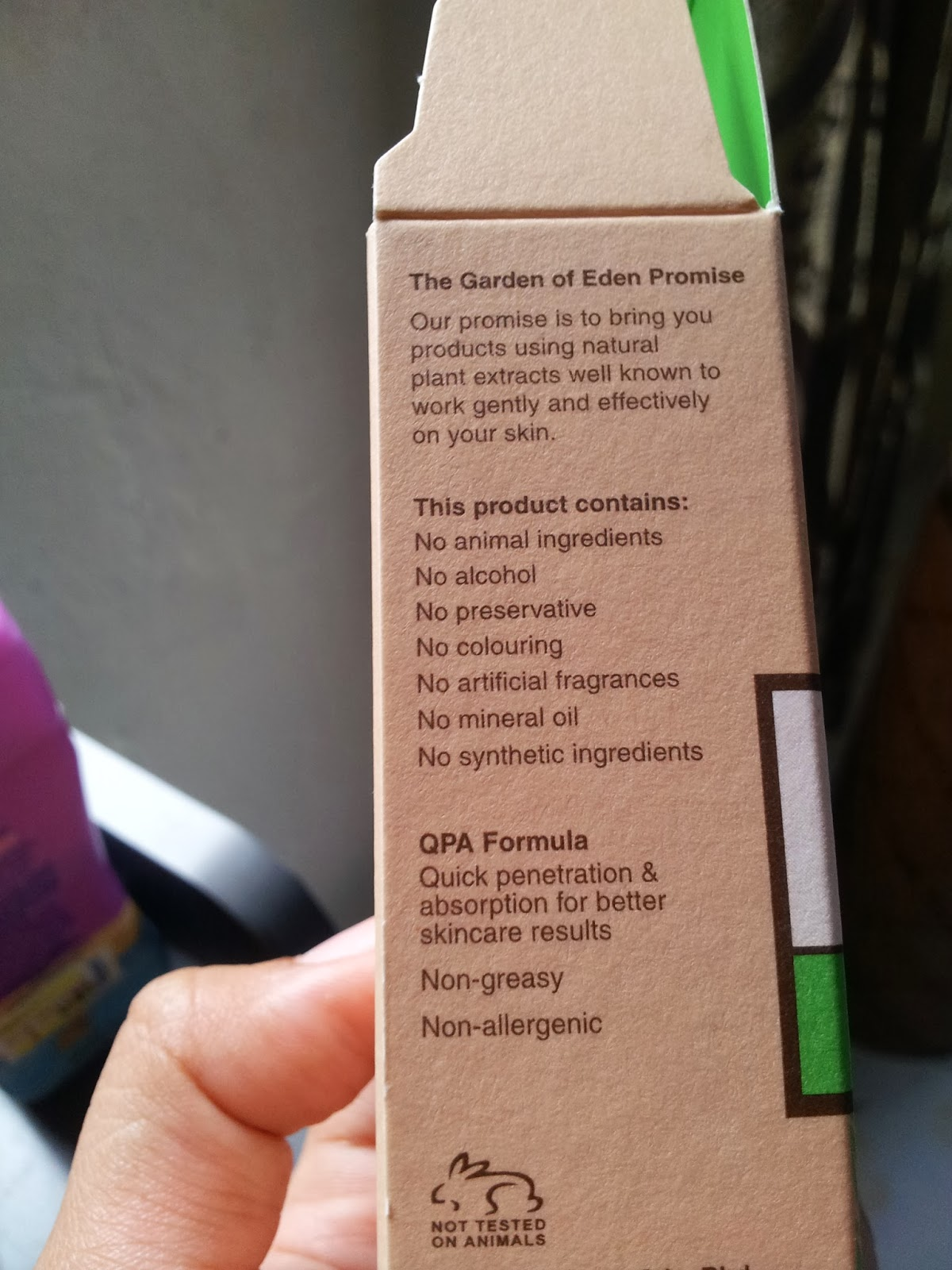 ConfidentIsBeauty: Garden of Eden Acne Serum Review