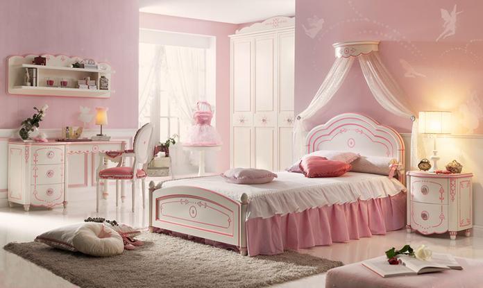 Mi casa mi hogar dormitorios para ni as estilo rom ntico - Dormitorio barroco ...