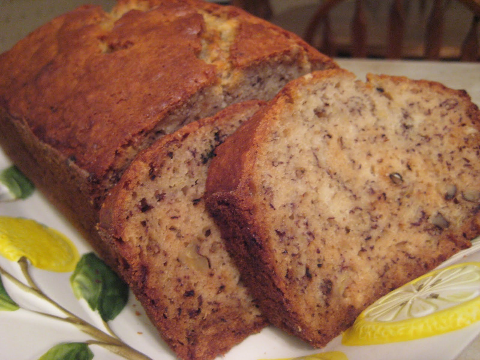 ... time since i d made this banana bread but finally i had enough bananas