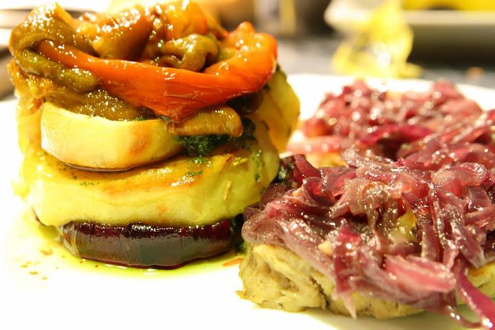 Blog vegetariano seit n encebollado con guarnici n for Cocinar seitan