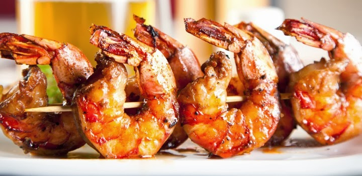 piri piri see more 3 grilled prawns with peppers camarao grelhado piri ...